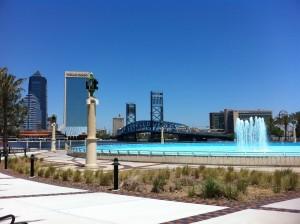 Jacksonville FL Downtown - Friendship Park